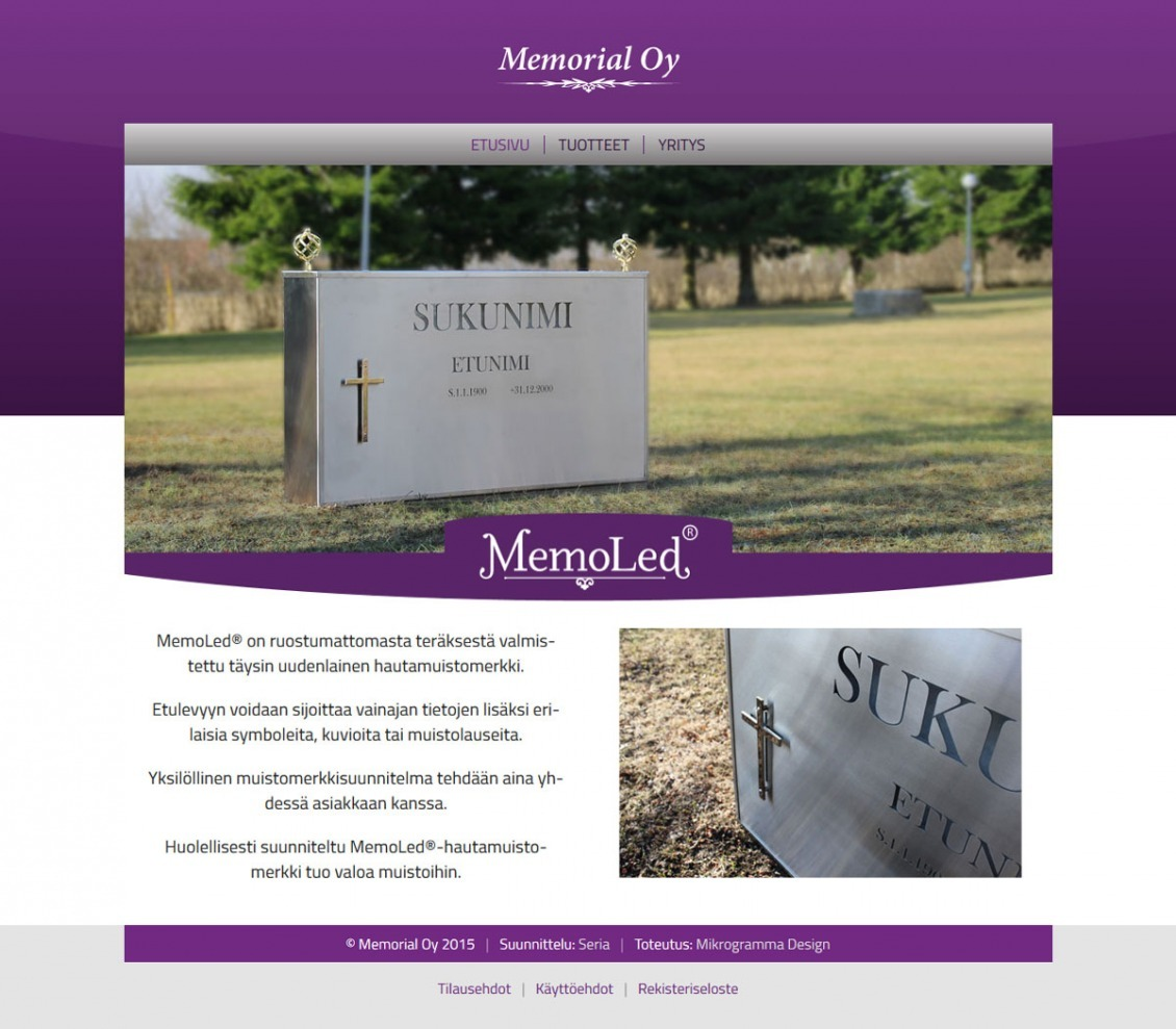 Memorial Oy