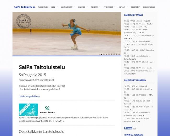 SalPa Taitoluistelu