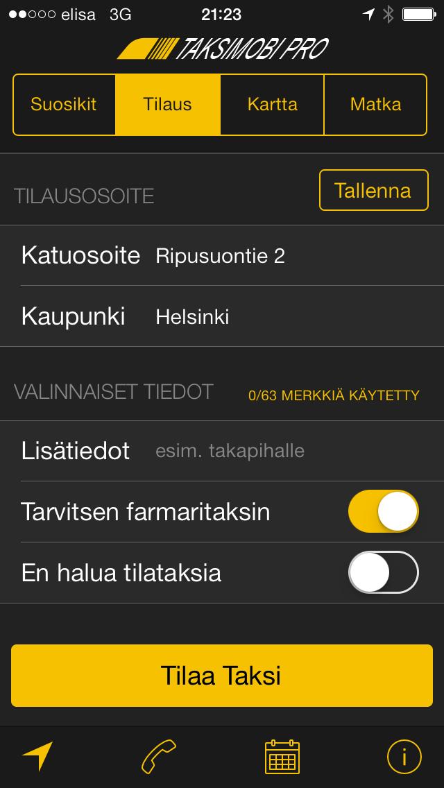 TaksiMobi Pro 2.0 (iOS)