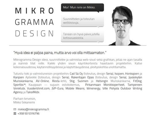 Mikrogramma Design
